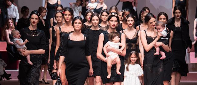 Dolce Gabbana Schlussbild winter 2015 runway models Modepilot 2015