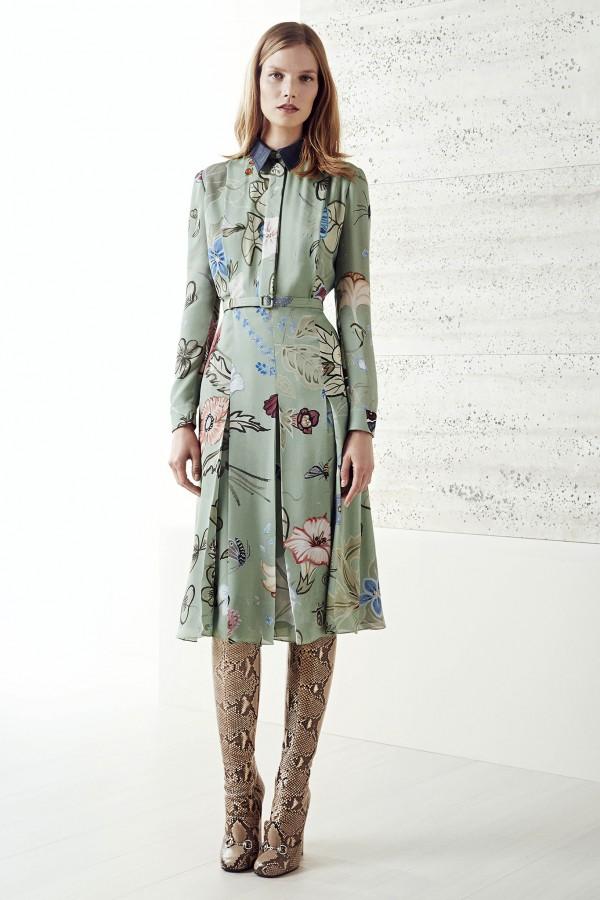 Gucci Kleid Blumen