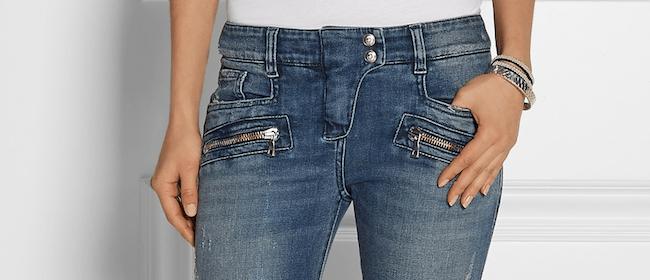 Teaser Balmain Jeans Hüftjeans Modepilot