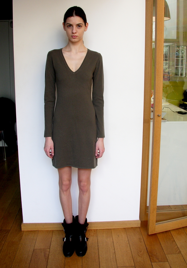 grunes Kleid