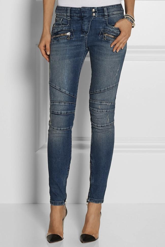 low-rise Balmain Jeans Modepilot