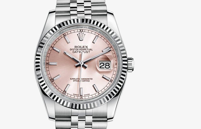 Rolex Oyster perpetual rosa