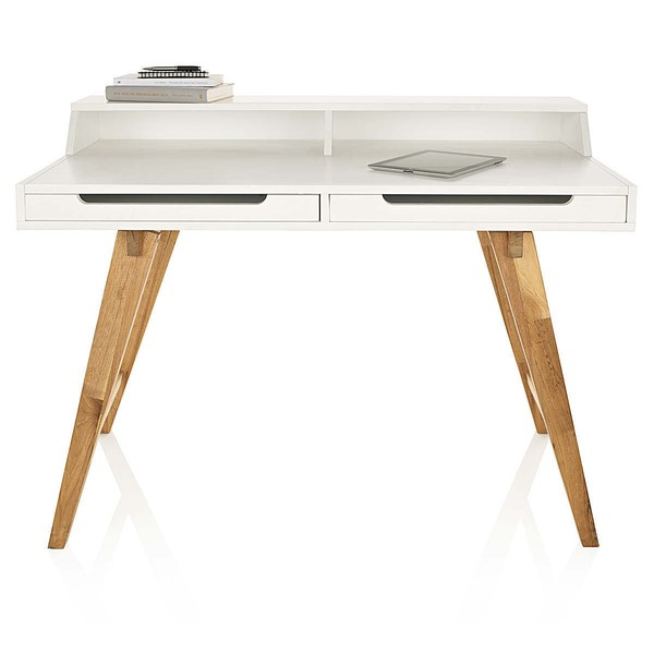 Schreibtisch Tisch weiß