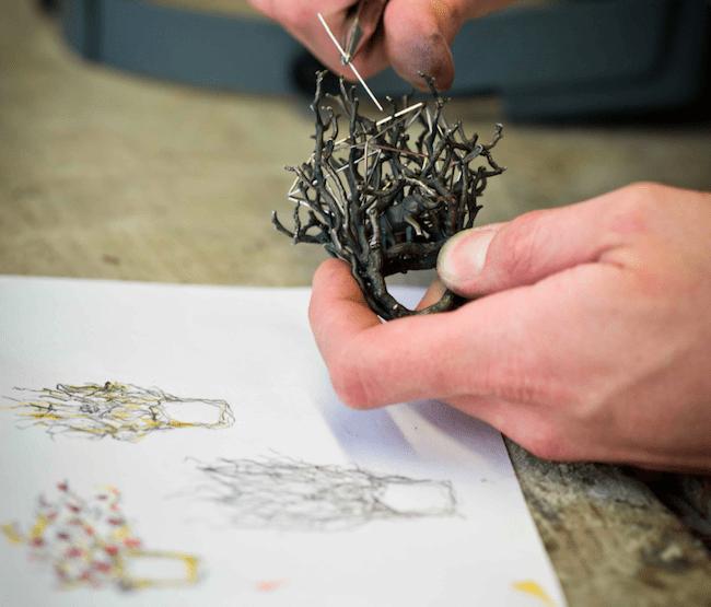 Georg Hornemann Werkstatt Atelier Goldschmied Modepilot