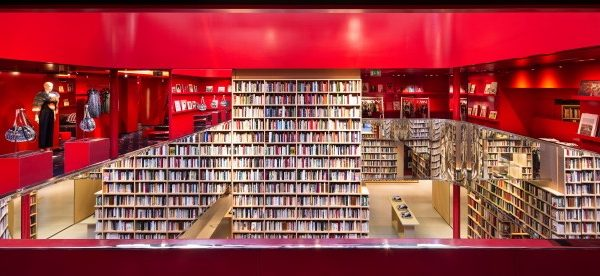 Pop-Up: 50.000 Bücher im Sonia Rykiel Flagship
