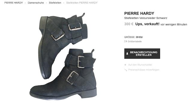 Pierre Hardy Biker Boots Modepilot