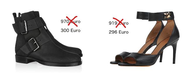 Pierre Hardy Givenchy Modepilot Schuhe