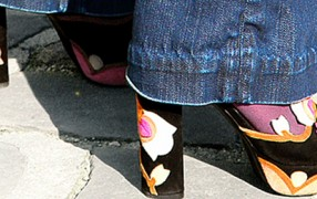 Schuhe Blumen