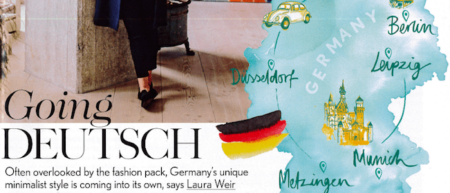 Vogue UK Going Deutsch Modepilot