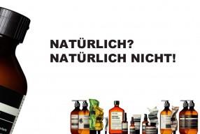 Aesop kosmetik natürlich bio organic palmöl
