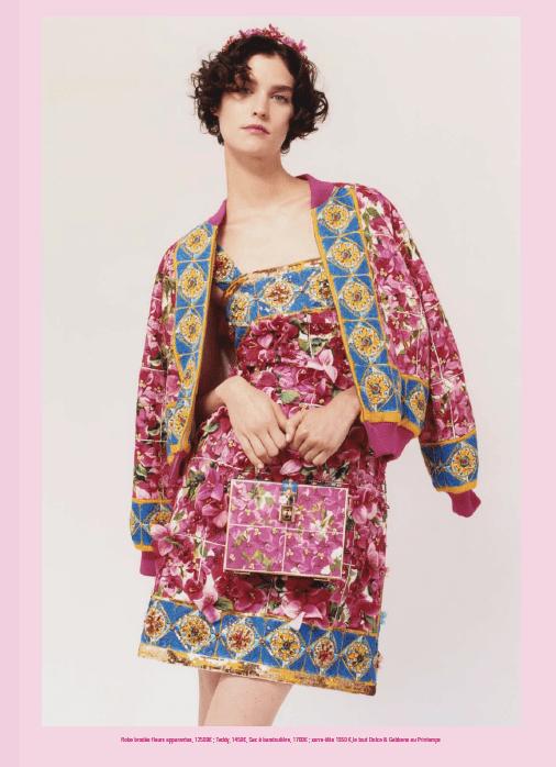 Exklusiv-Outfit von Dolce & Gabbana