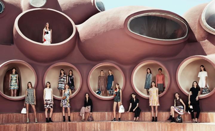 Dior Cruise 2016 Group Shot
