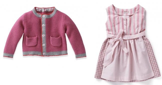 Dirndl Janker Modepilot Babys Mädchen Nyani