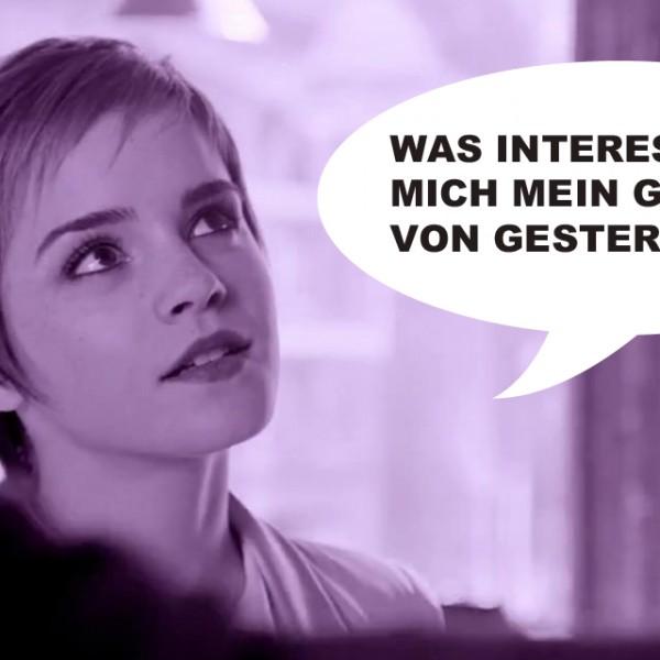 Emma Watson erwischt!