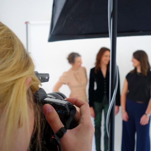 Modepilot Shoot – wir im Foto-Studio