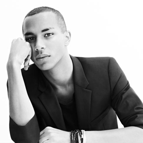 Olivier Rousteing, by Karim Sadli_low