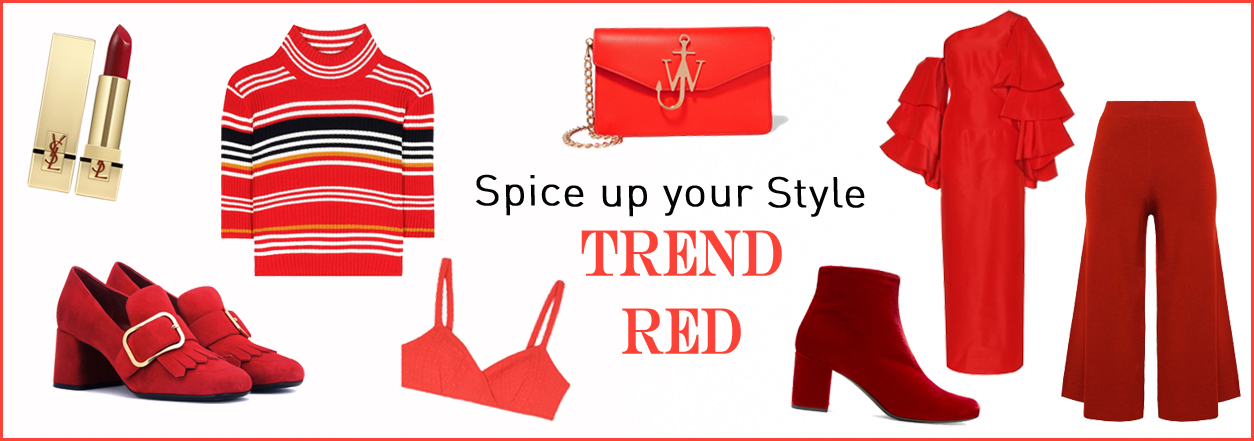 RED TREND COLOR style accessoires shop
