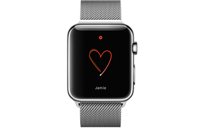 Scribble Heart Herz Apple Watch Modepilot
