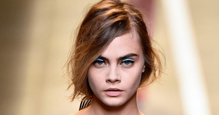 Cara Delivingne Model Augenbrauen Modepilot M2 Beaute