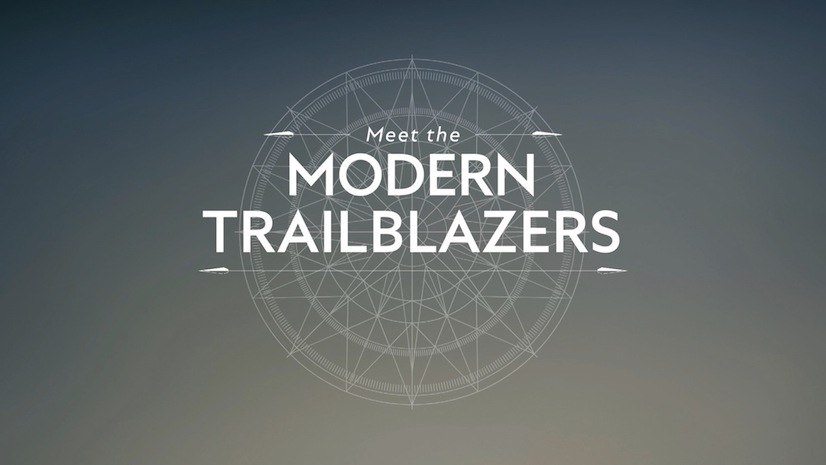 Meet the Modern Trailblazer Logo Montblanc Modepilot
