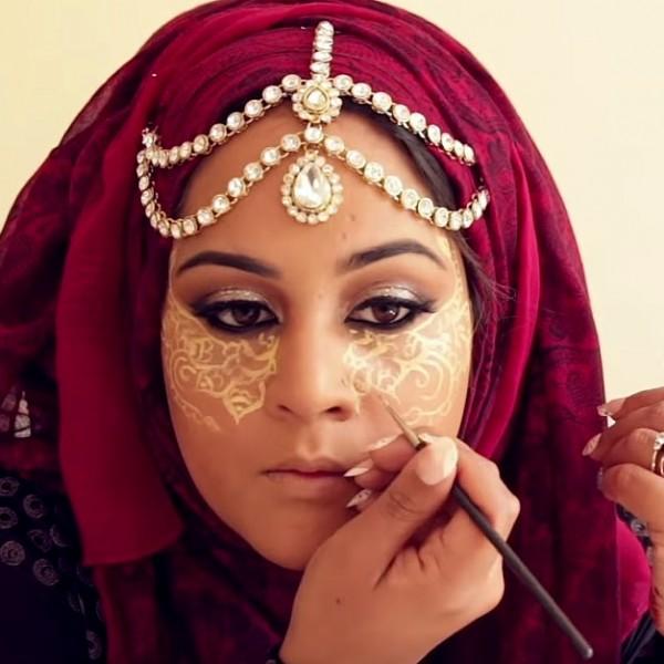 Henna-Contouring