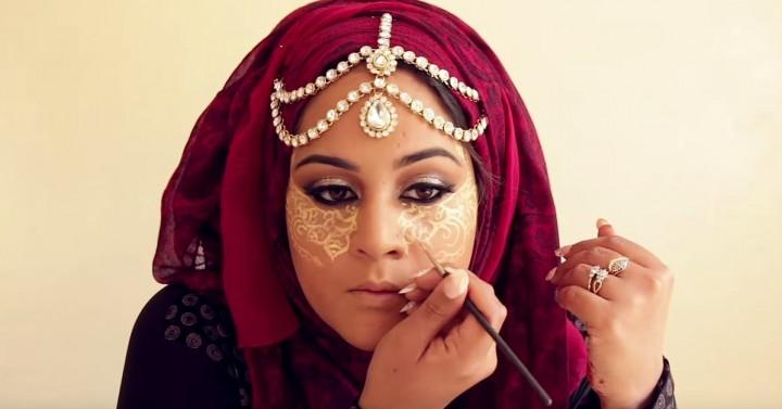 henna conturing