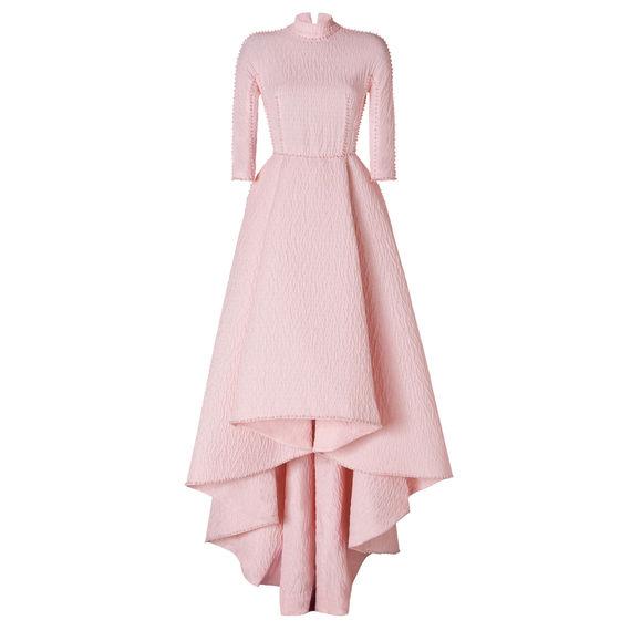 2014: Ein Entwurf von Emilia Wickstead für die Red Carpet Collection von Stylebop.com in Zusammenarbeit mit Nachwuchsdesignern
