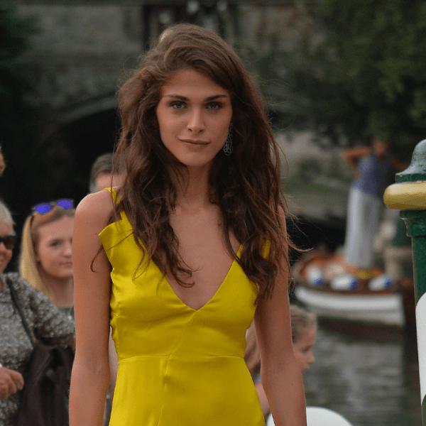 Filmfestspiele Venedig: Elisa Sednaoui in Jil Sander