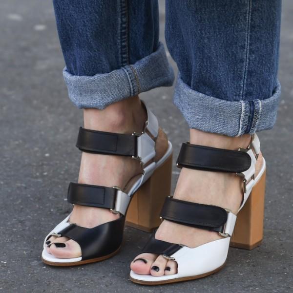Herbststyling für Jeans: Hochgekrempelt