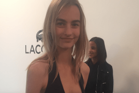 Model backstage Lacoste Modepilot 2016