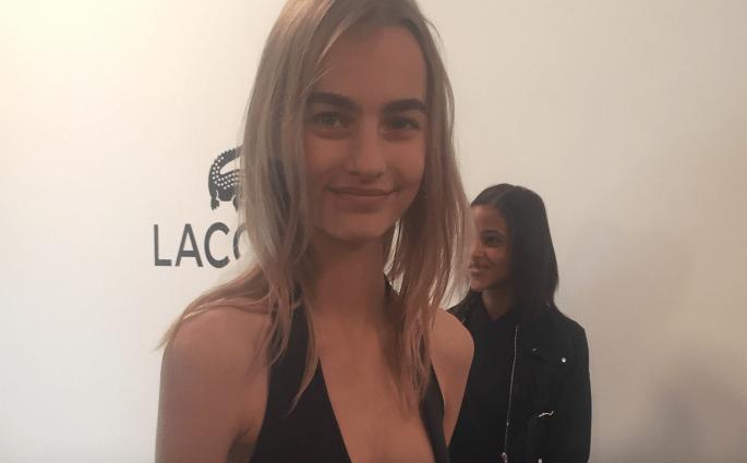 Model backstage Lacoste Modepilot 2016