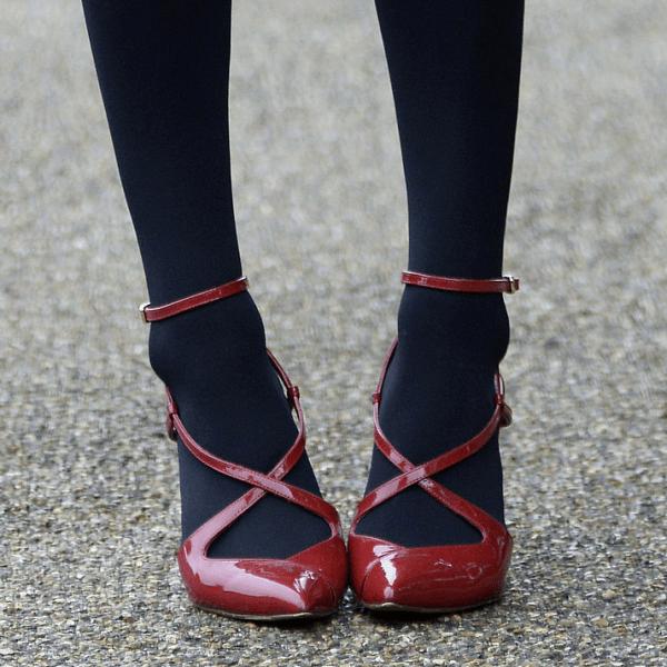 Streetstyle Schuhfetisch