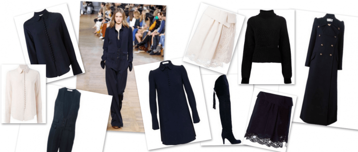 Chloe Look Winter 2015 Mantel Kleid Jumpsuit Online Shopping Modepilot
