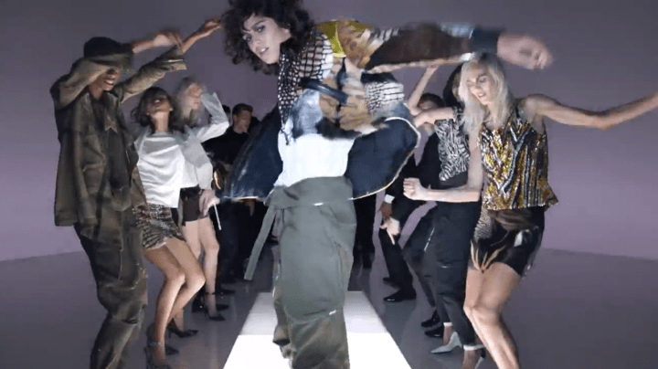 Tom Ford Dance the Catwalk Modepilot Video 2016