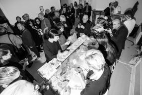 A.F. Vandevorst Kunstperformance in Antwerpen