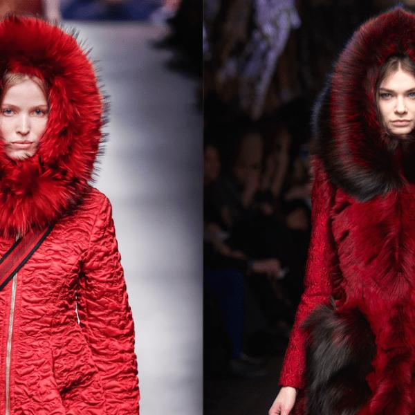 Doppelt, dreifach, vielfach gut: Purpur-Rot und dicke Schleife