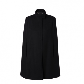 Cape Wolle Schwarz Stella McCartney Modepilot