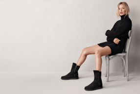 Carolyn Murphy Ugg Australia Classic Luxe Campaign Abree Modepilot