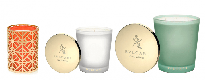 Duftkerzen Modepilot Tory Burch Bulgari scented Candles
