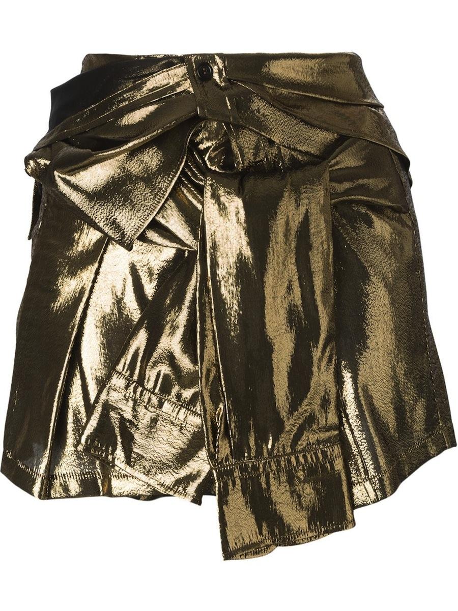 Faith Connexion Gold Rock Skirt Modepilot