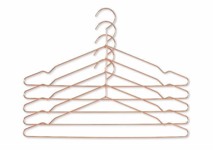 Hang Kleiderbügel Kupfer Modepilot