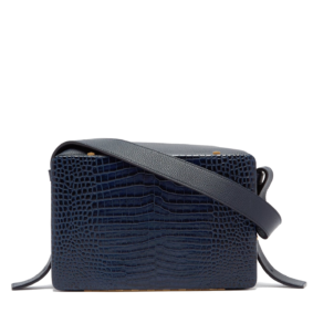 Lutz Morris Umhaengetasche blau Leder Modepilot