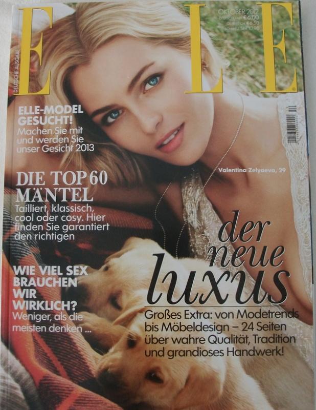Elle Oktoberausgabe 2012 Modepilot