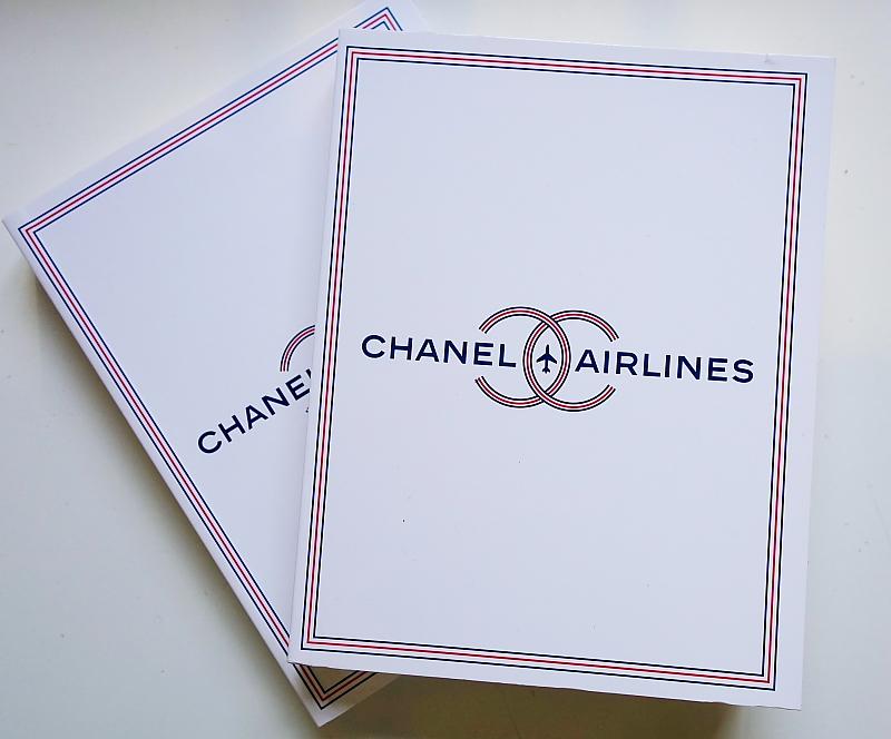 Modepilot-Gewinn-Chanel-Notizbuch