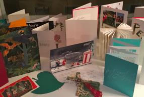 Weihnachtskarten 2015 Modepiot