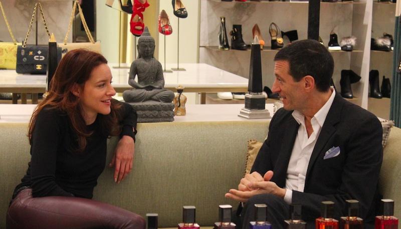 Kathrin Bierling Alexander Vreeland Modepilot Parfum