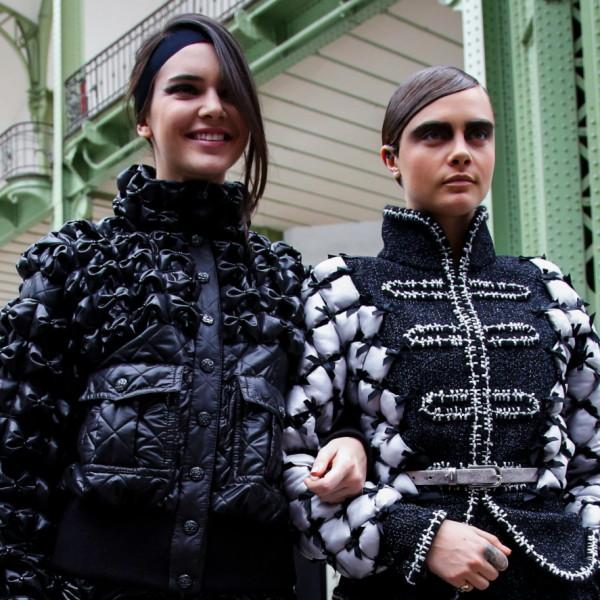 Cara und Kendall machen in Mode