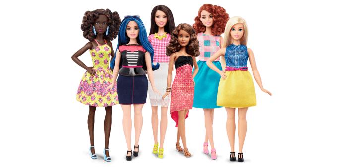 Neue Barbie Puppen Mattel Kurven Modepilot