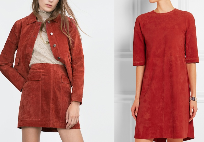 Red leather Zara vs. Tods Modepilot