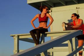 Venice Beach Modepilot Sport Kleidung Klamotten